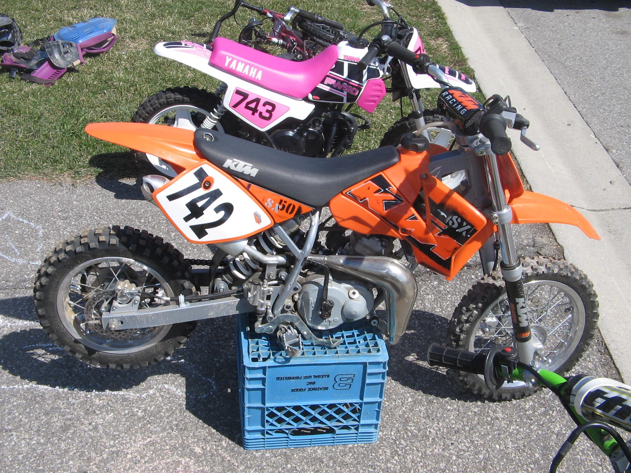 04KTM50SR & 99PW50