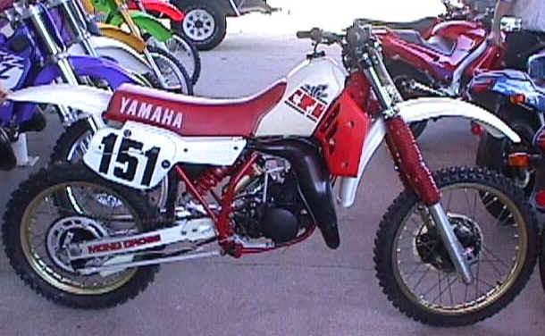 Yamaha YZ models