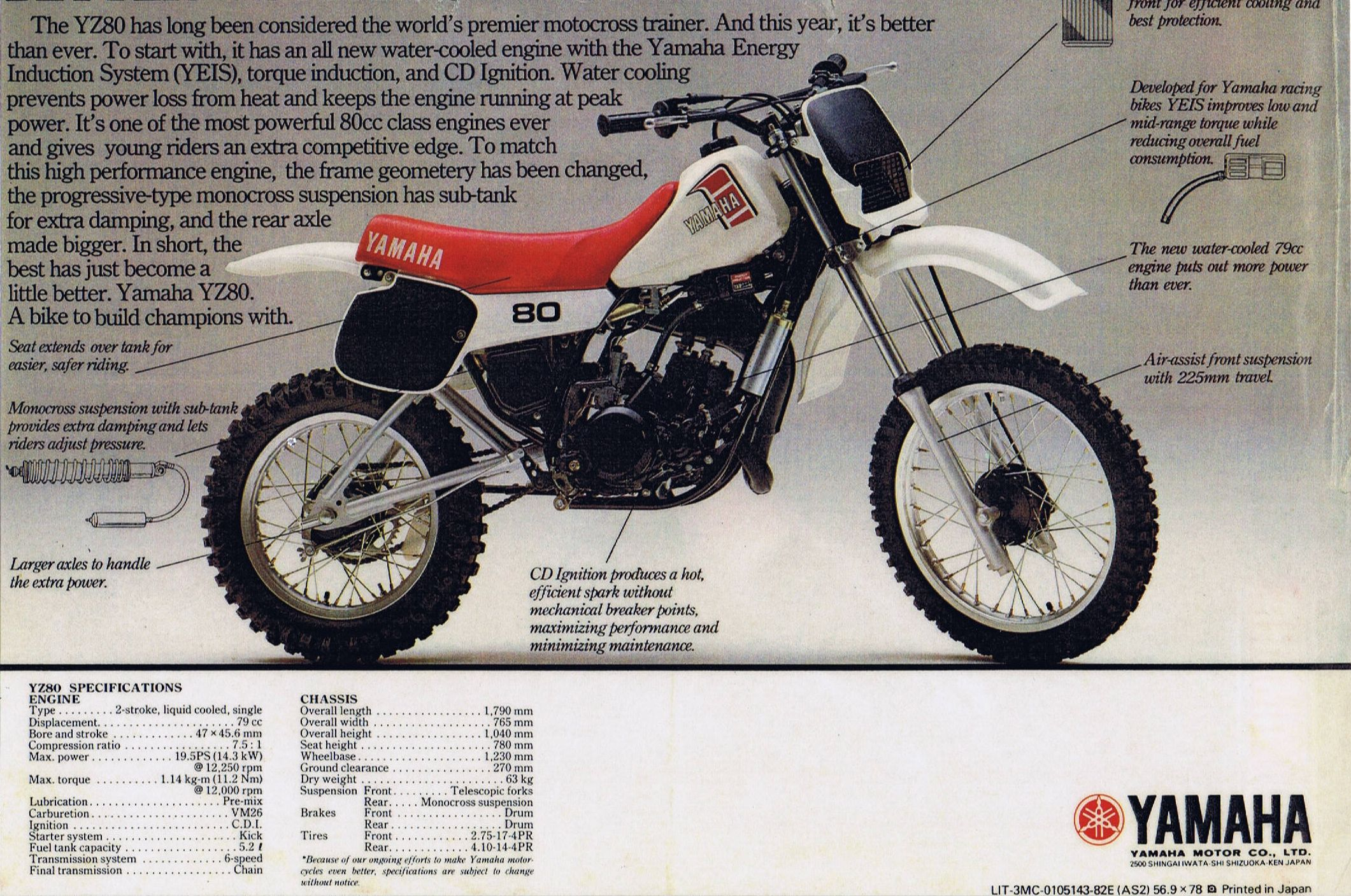 1974 Yamaha Yz 400 Engine Diagram Search For Wiring Diagrams Dt175 Schematic Series Data Rh Enduros Com 125 250